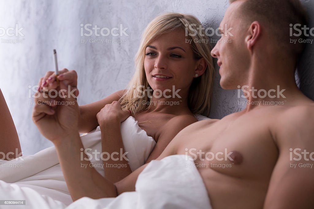 naked cigarettes middleaged smoking women