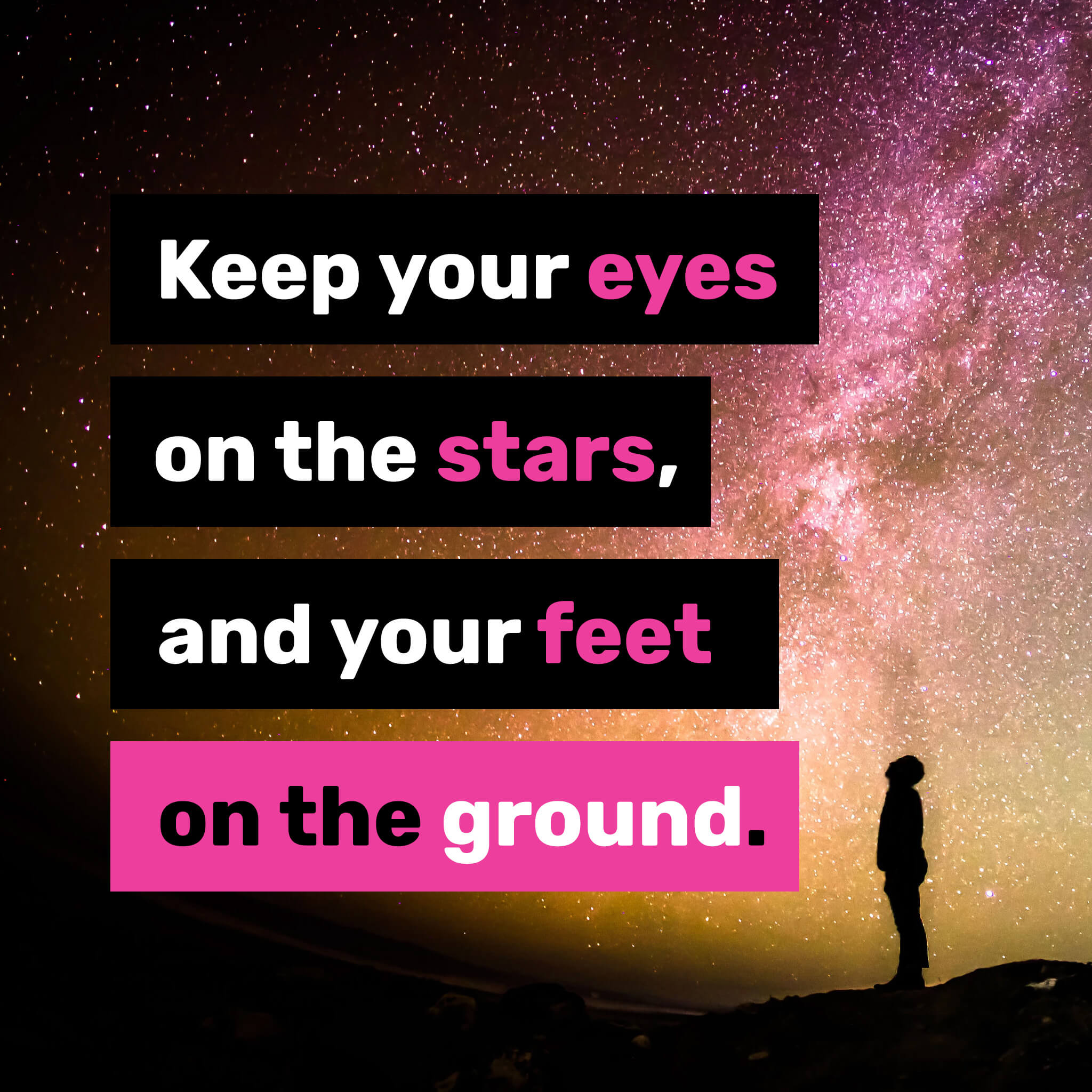 your have ground on the feet