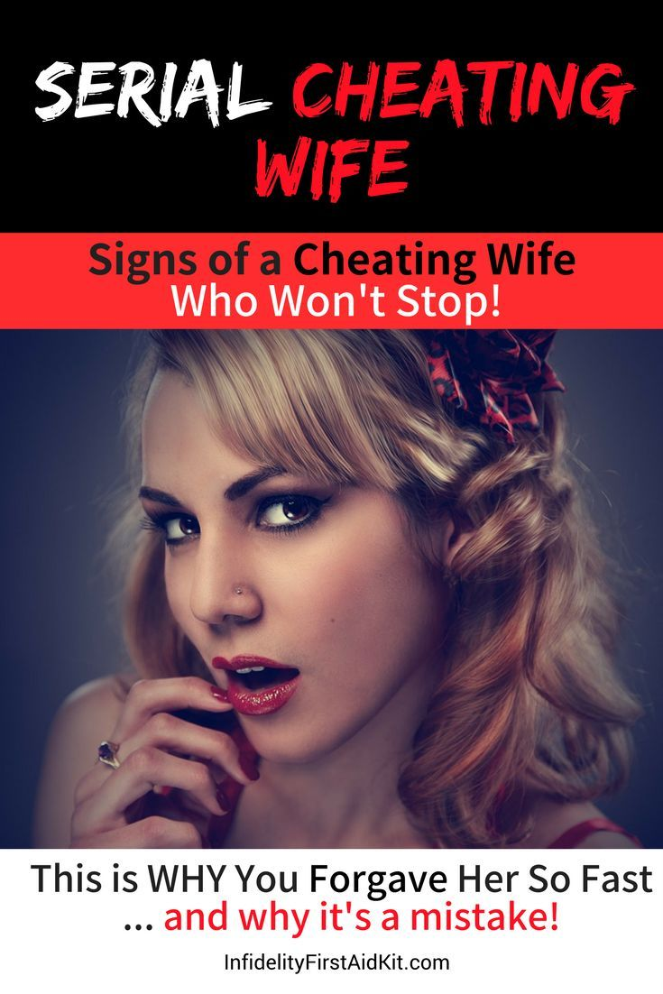 behavior cheating of a wife