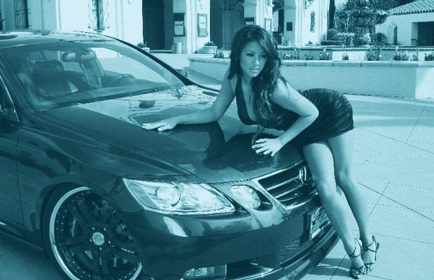 models hot event asian car night import