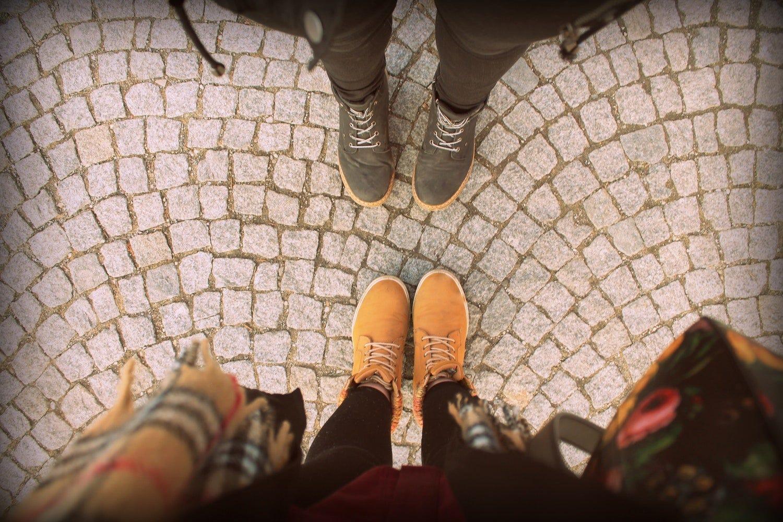 feet walk by