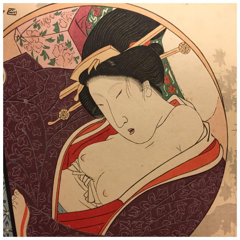 erotic japan paintings