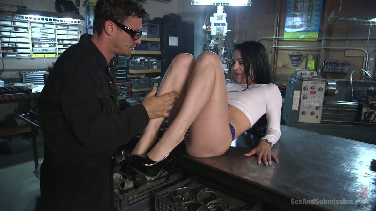 slip fetish satin