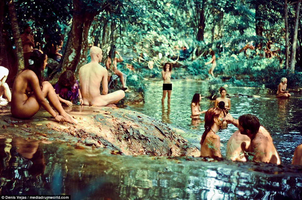 pictures rainbow naked gathering
