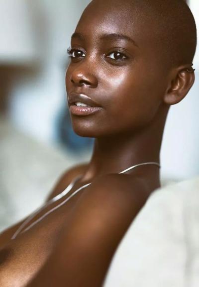 women sexy bald