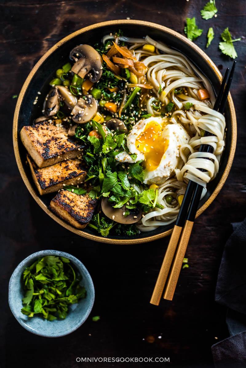 recipe noodle soup vegetarian asian