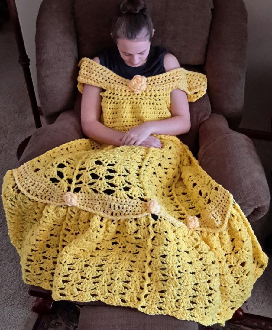 crochet to a dress how adult