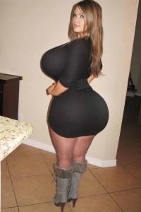 and big huge ass boob