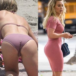 nude hilary of duff clips