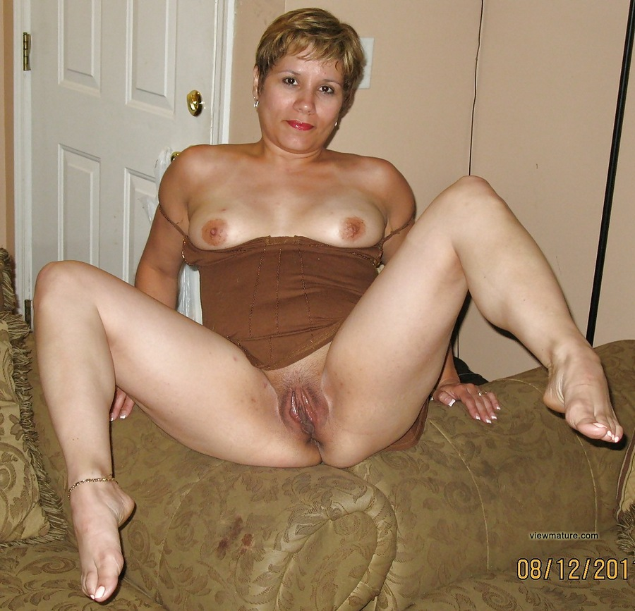 naked home woman older