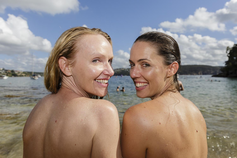 aussie nude photo beach