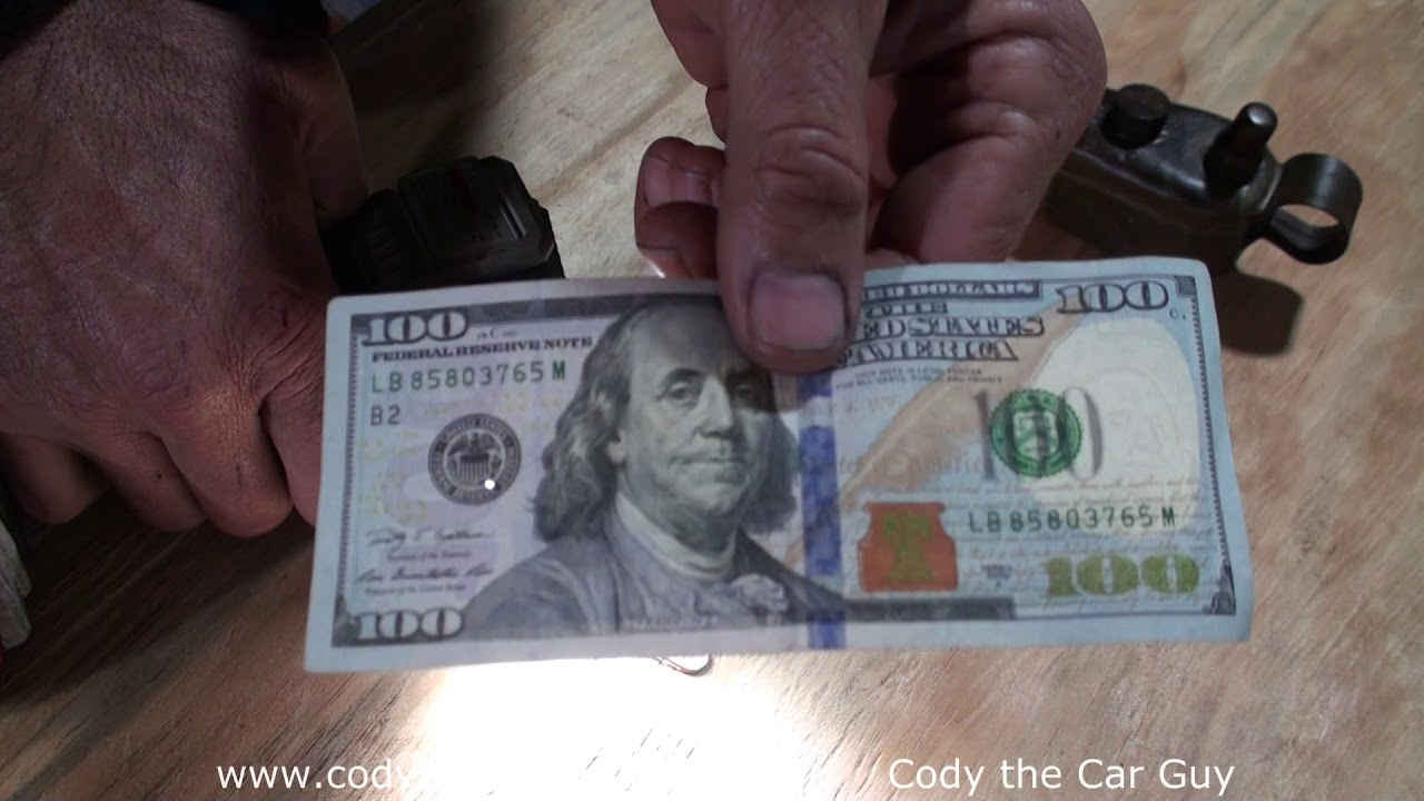 currency strip counterfeit