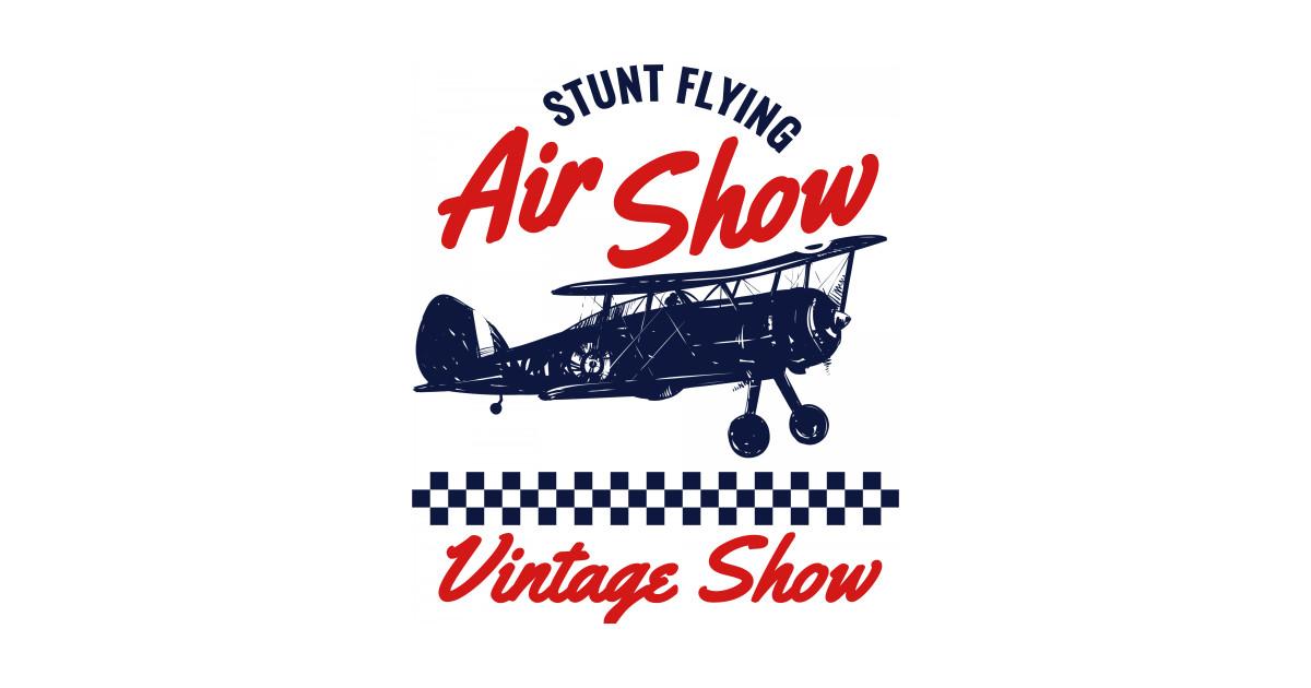 vintage photo air show