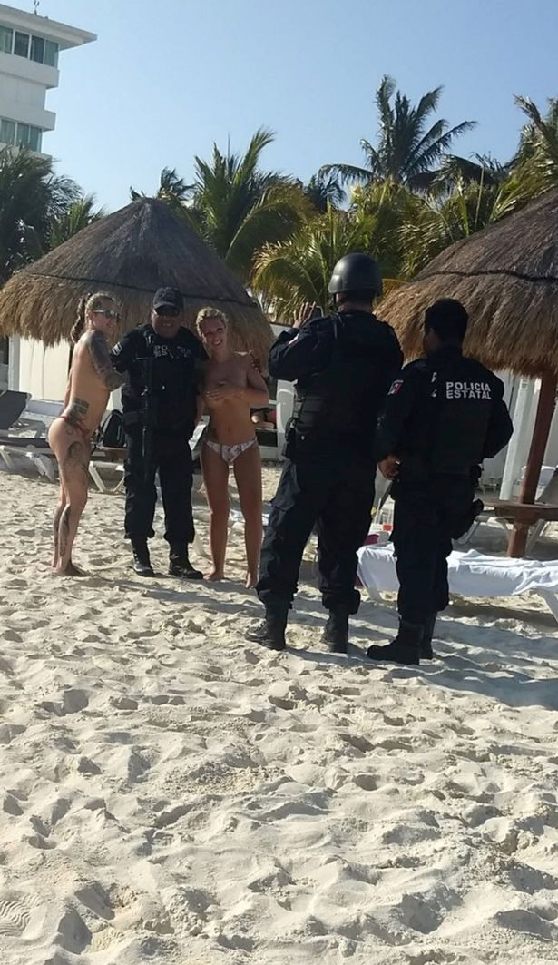 naked cancun and