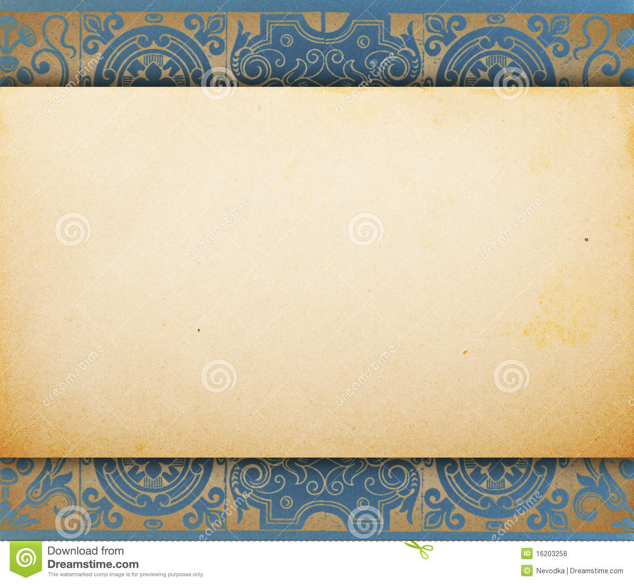 paper template vintage