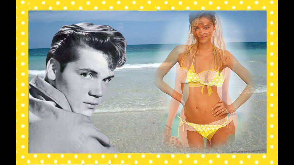 winnie dot tiny polka bikini yellow