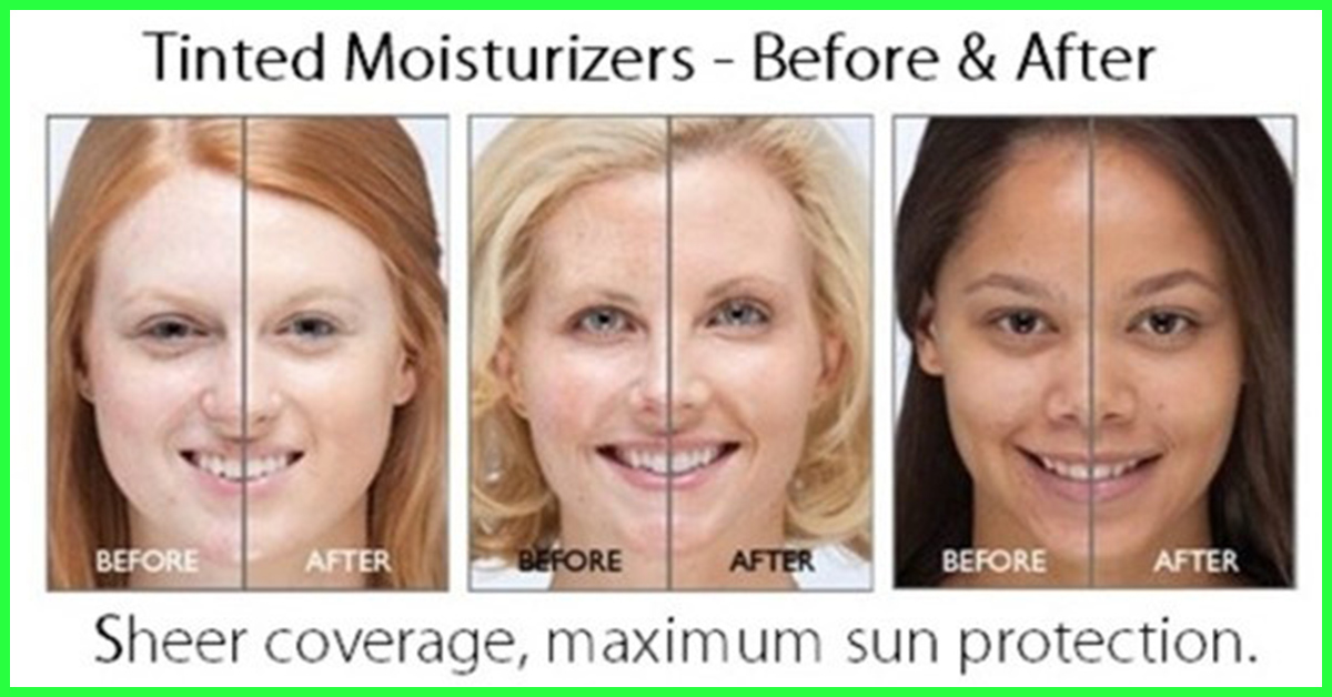 with moisturizer tinted mature for spf skin