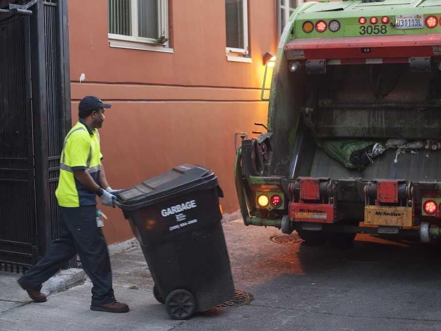 taking trash the junkyard out porno