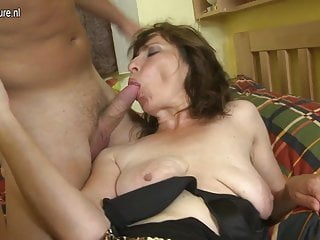 son mom hairy and porn