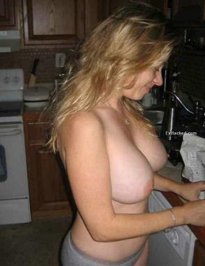 huge tits at home