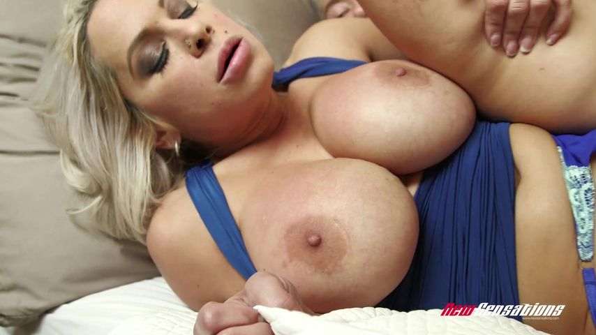 huge my tits moms with playing