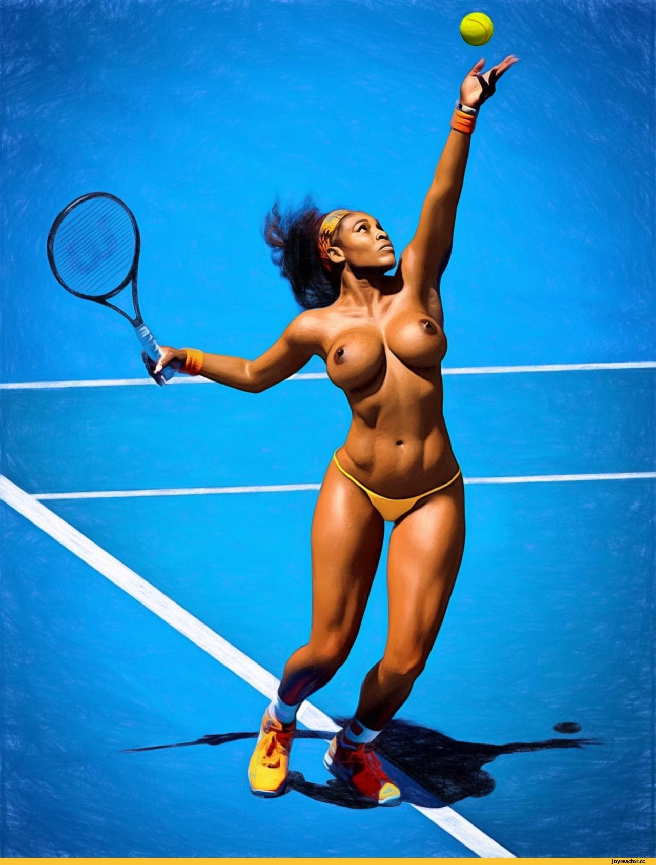 tennis photos of stars nude