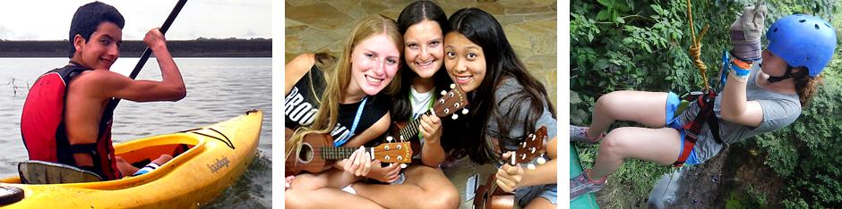 teen service travel community