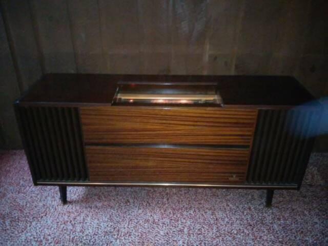 consol stereo vintage grundig