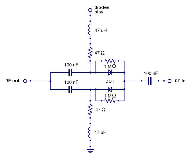 diode radio amateur pin