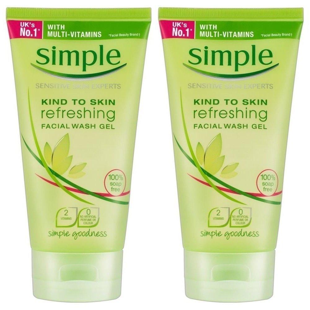 facial simple refreshing wash