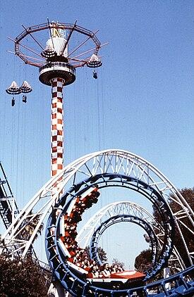 walt roller disney coaster world vintage