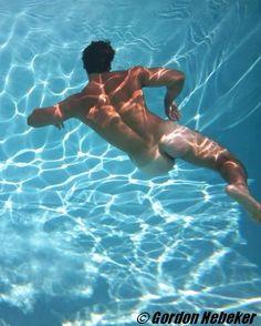 in men water nude