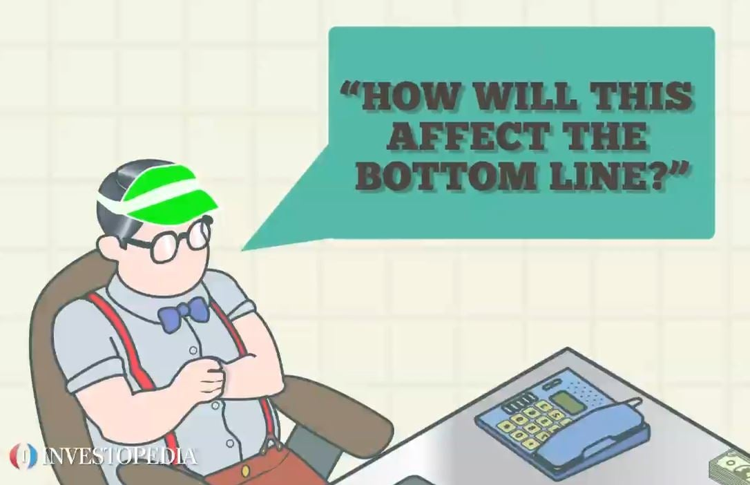 bottom the line at