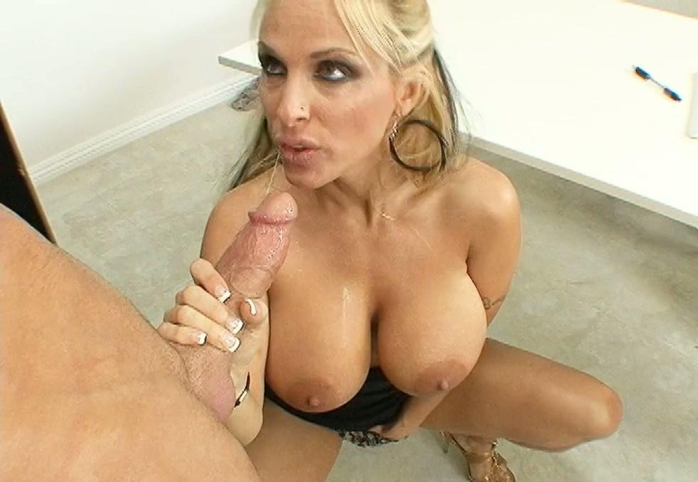 oil boob orgy big