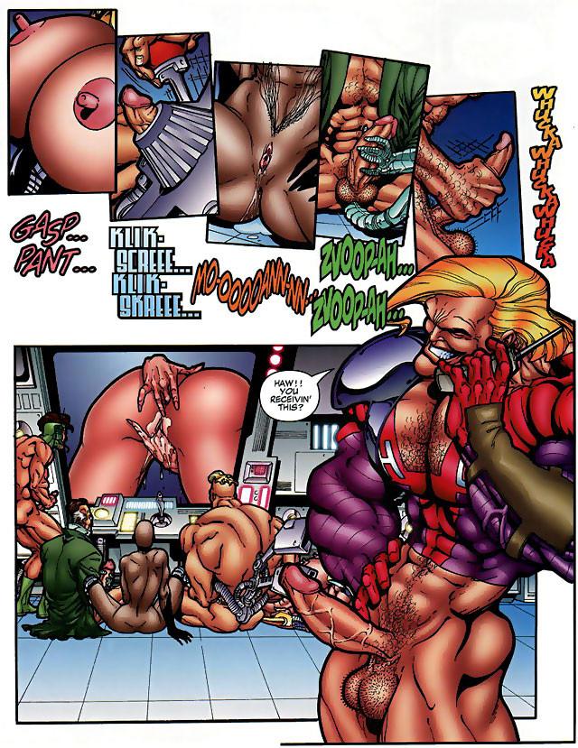 comics monster anime sex