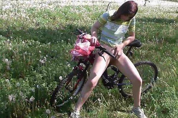 peeing outdoor desperation