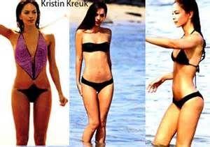 pics kreuk kristen bikini