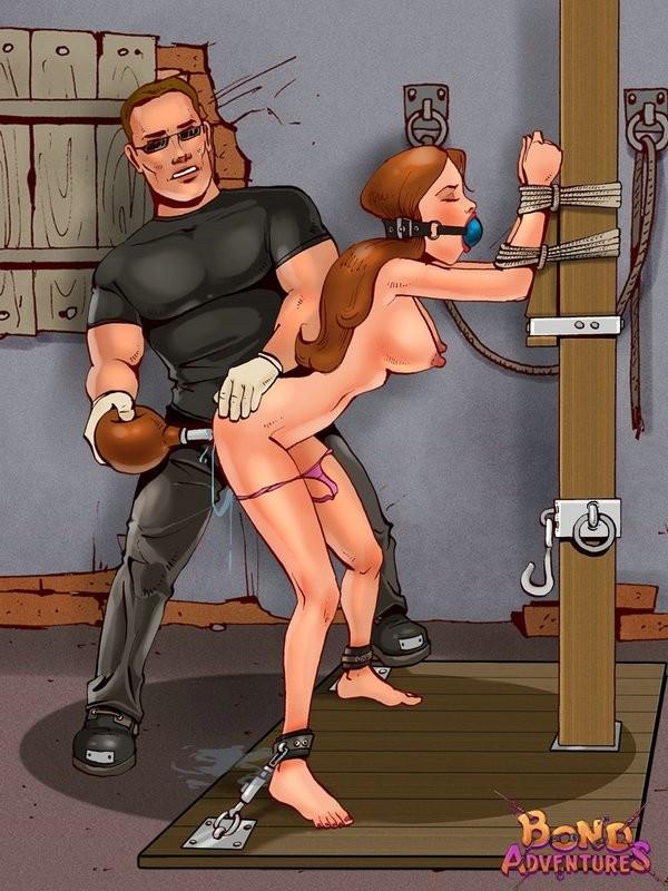 cartoons painful porn