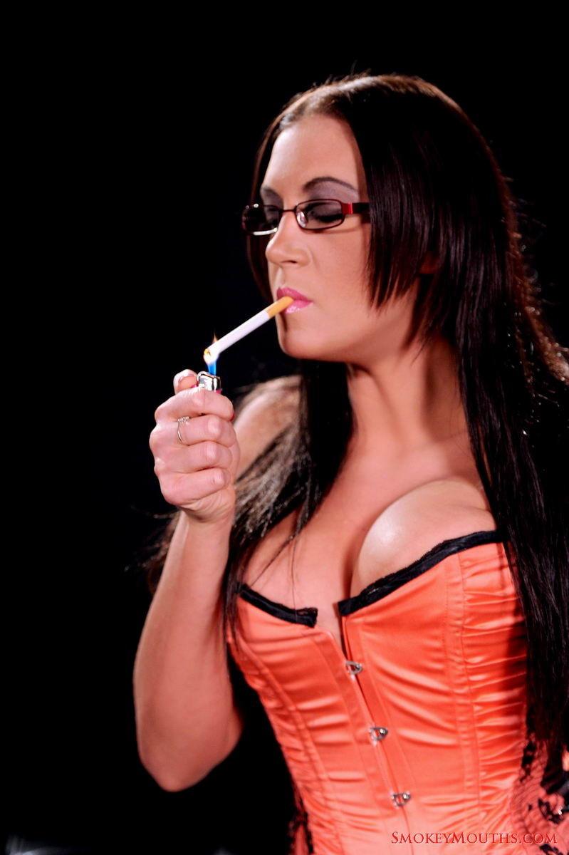 smoking fetish pornstars