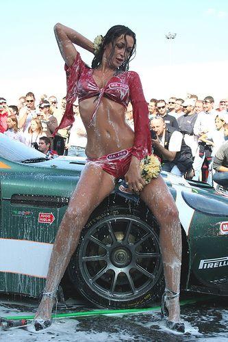 all girl car wash