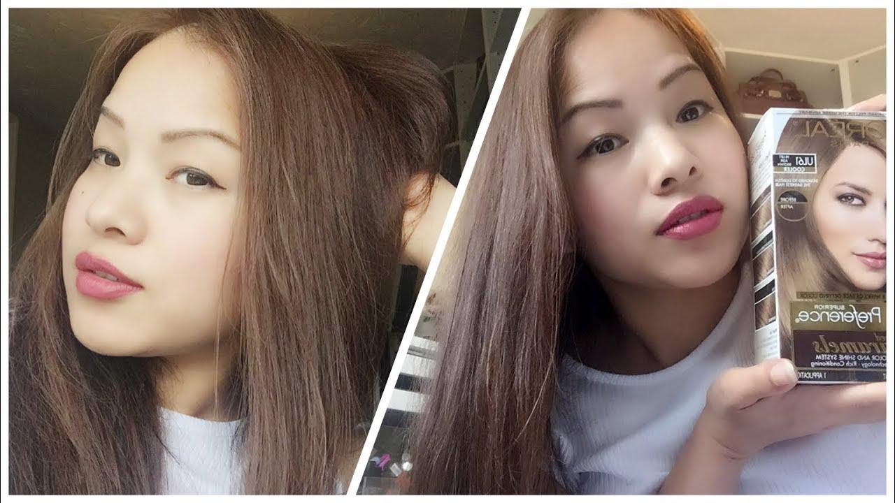 dye hair colour asian