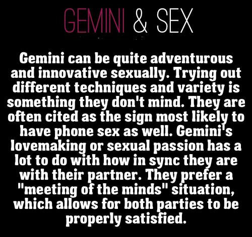 sex horoscope gemini