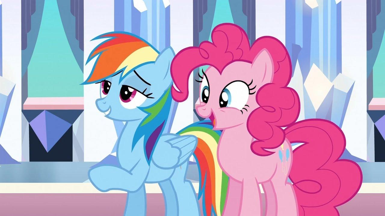 pinkie dash pie rainbow and