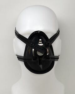 mask anesthetic fetish black