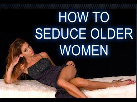 a mature seduce woman