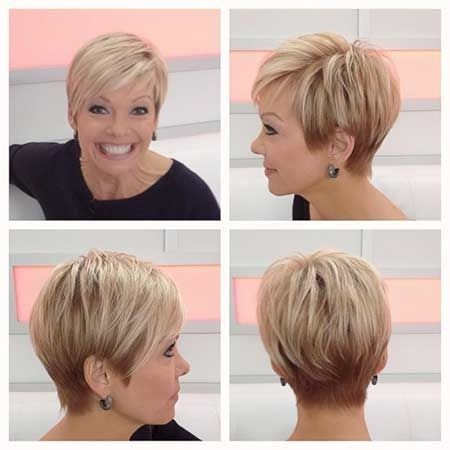 mature haircuts short for woman
