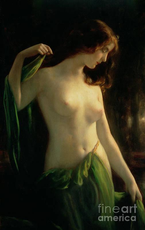 nude nymph art