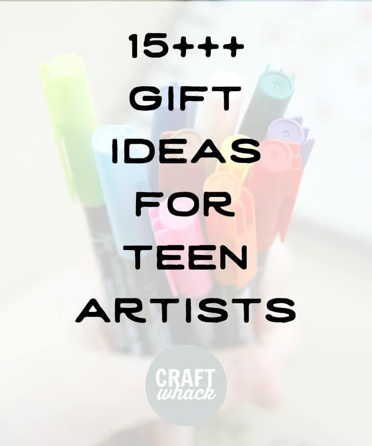 supplies for art teens