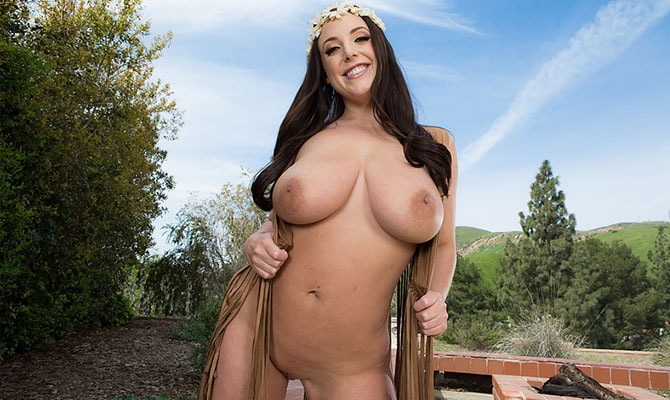 large natural porn stars