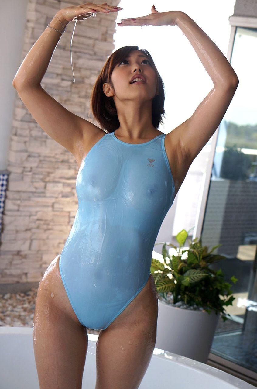asian bikini girls wet